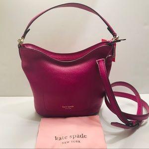 Kate spade Polly Berry Blitz Small Hobo Bag